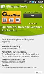 quickmark für android