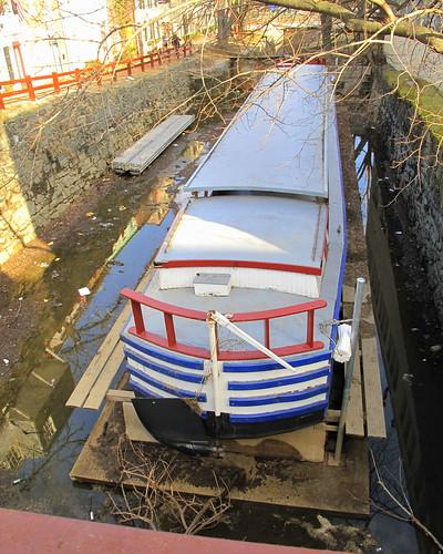C&O barge