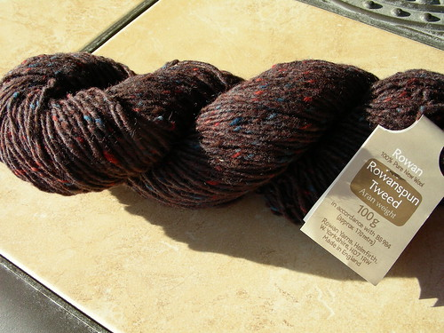 Rowanspun Tweed Caviar 4 by Artisan All Unwound