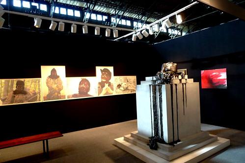 "Diana Al Hadid Sclupture ""In Mortal Repose"" Shown at ADAA Fair"