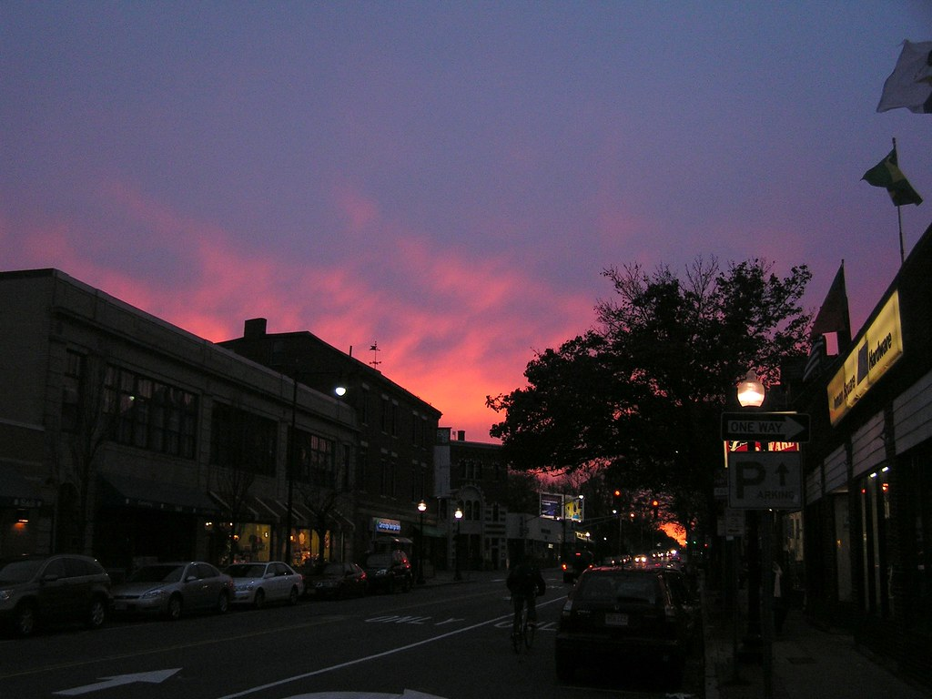 Dusk in Inman Square