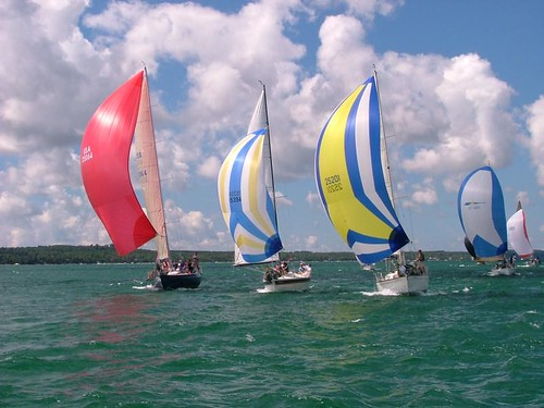 Sailing Photo Of The Day Spinnakers Messing About In
