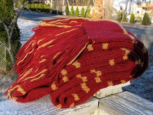 1863 HP scarf the third