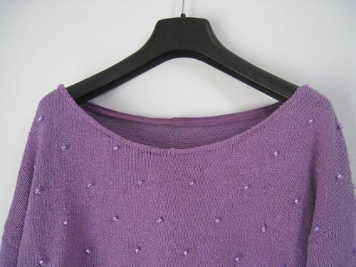 purple pearl neck