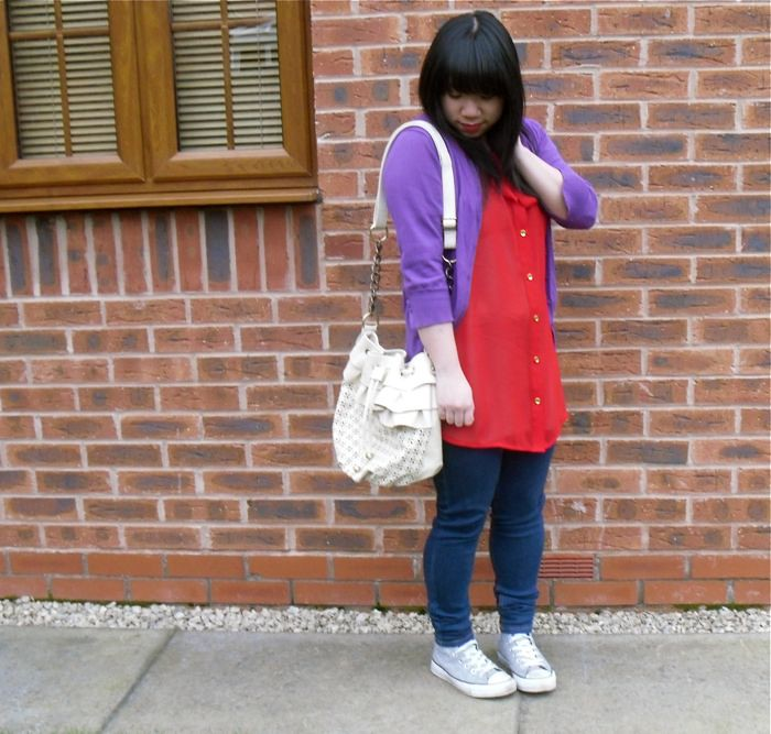 brights: red and purple