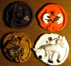 Chinese year Animal Plaques
