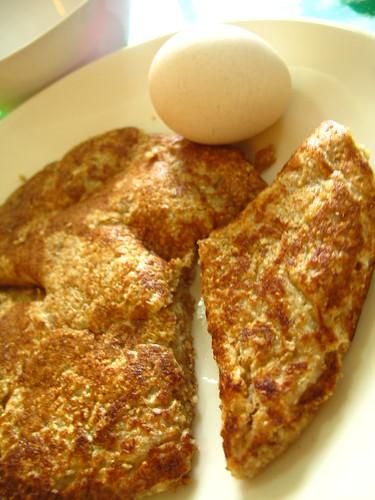 pancake & egg