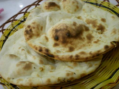 Bukit Bintang KL - naan bread