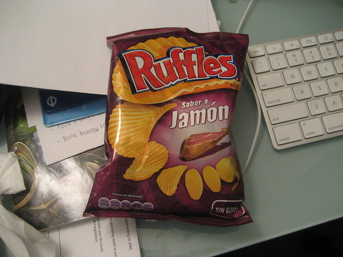 Jamon Ruffles