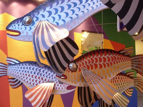 Goldfish at the Children's Museum