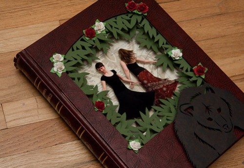 Altered Book - Rose Red & Snow White-2