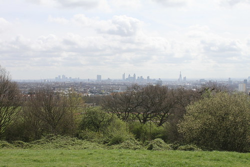 The view from Parliament Hill