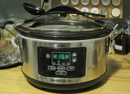 Awesome new Hamilton-Beach 6-qt. Slow Cooker