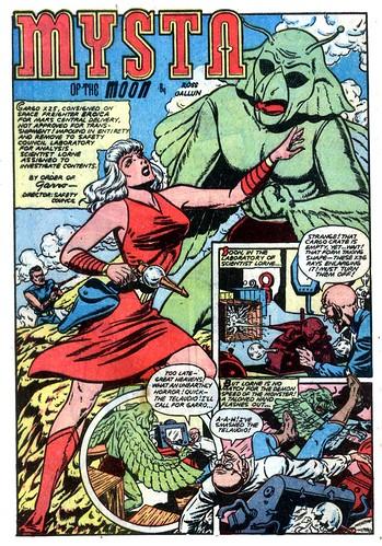Planet Comics 61 - Mysta (July 1949) 00