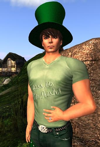 Holli Pocket - Kiss Me I'm Irish T-Shirt Depraved and Luckless Hunt