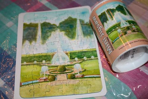 Mini Longwood Gardens Jigsaw puzzle