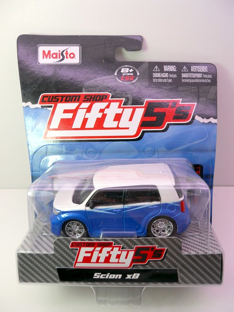 maisto custom shop fifty 5's Scion xB (1)