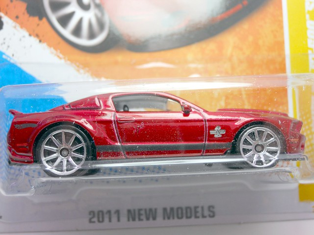 hot wheels 2007 ford shelby gt-500 super snake red (2)
