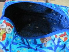 owl bag - inner