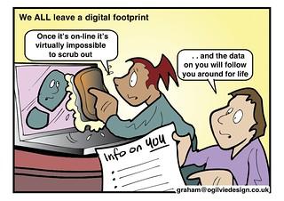 #ISRU11 - We ALL leave a digital footprint