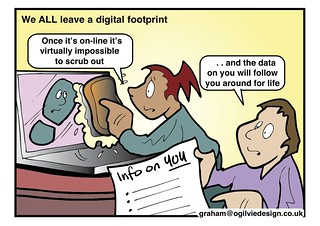 #ISRU11 - We ALL leave a digital footprint