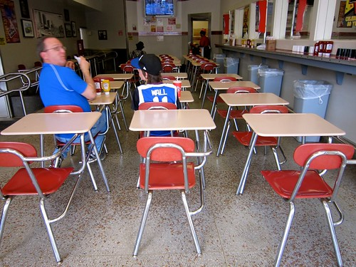 School Desks For Eatin' At