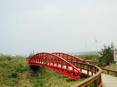 小鐵橋、風力發電機