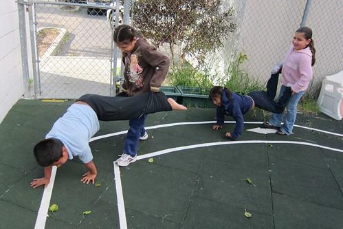 SMUM kids playing
