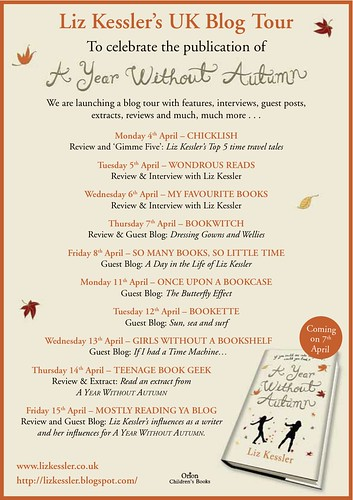 A Year Without Autumn Blog Tour