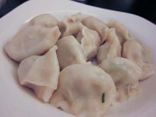 Kuchay dumplings at Peace and Happiness Dumpling House