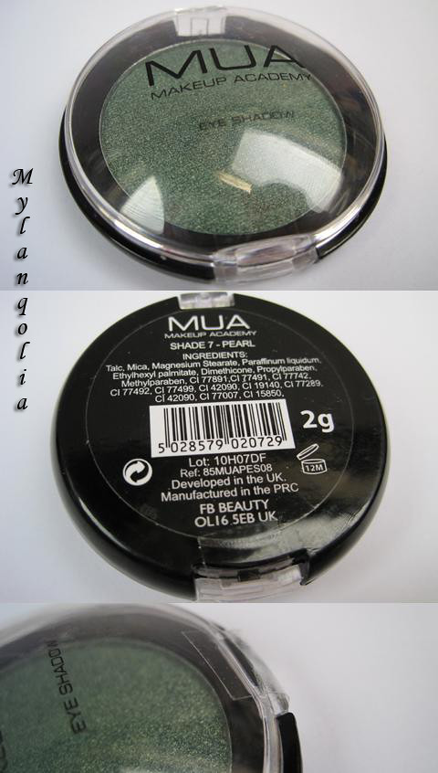 MUA Eye Shadow S9P-1