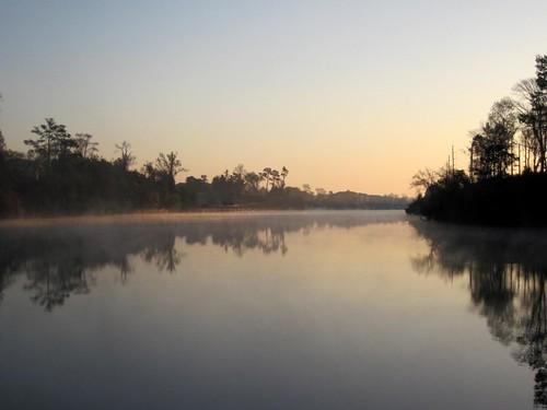 Morning fog in Myrtle Beach