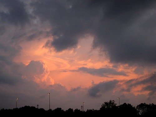 100 Day Project: Day 25 – A picture of your day (Perfect Orange Sky)