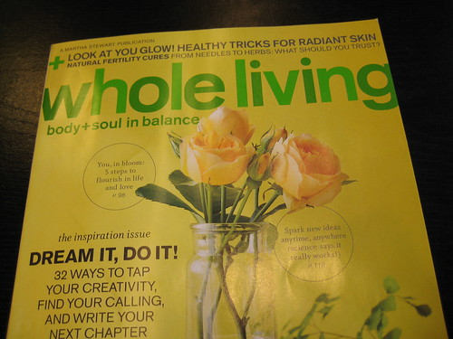 whole living magazine