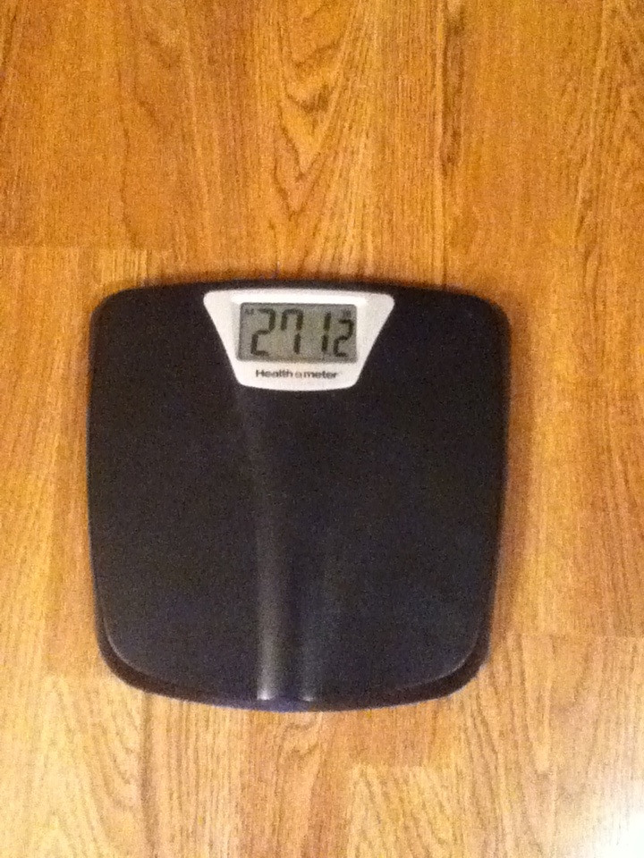 Official weigh in: 271.2lbs