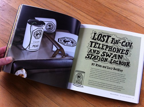 LOST Tin-Can Telephones and Swan Station Logbook by Ryan and Lucy Berkley
