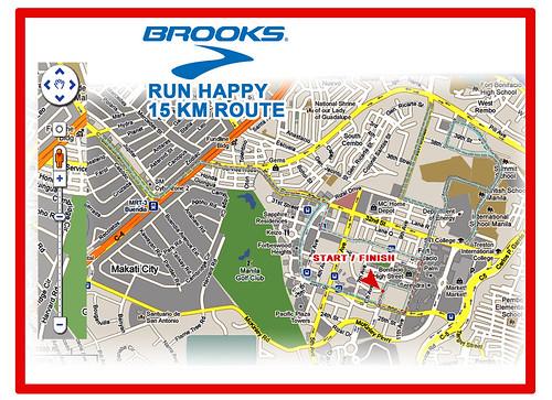 BROOKS map 15K