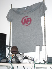 Nerd Fitness T-Shirt on Display
