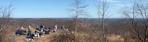 Lunch overlooking Mahwah/Campgaw