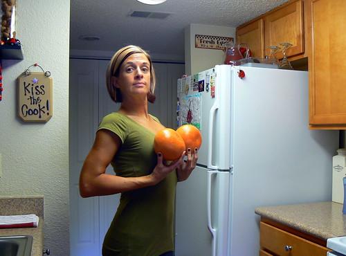 Nice Grapefruits I got!
