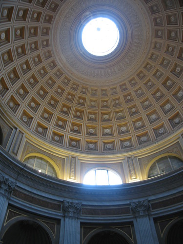 Just a random gorgeous dome. That's how they roll in the Vatican.