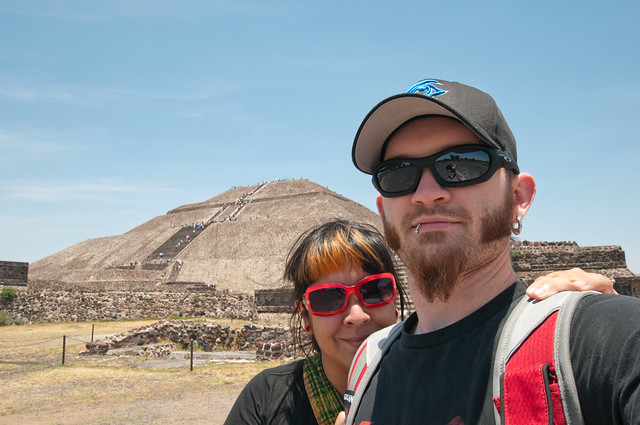 Teotihuacan and Shaun and Erica