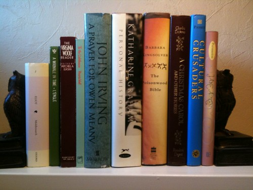 june bookshelf