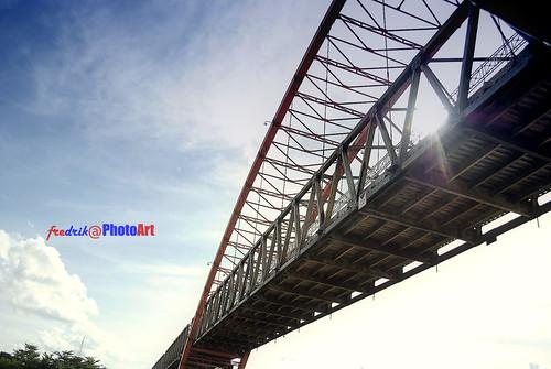 from under - kahayan bridge