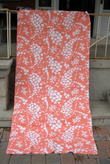 coral blossom fabric shopatmoxie