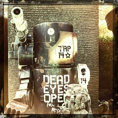 Dead Eyes Open (Fuck the Reds) by SleeperService, on Flickr