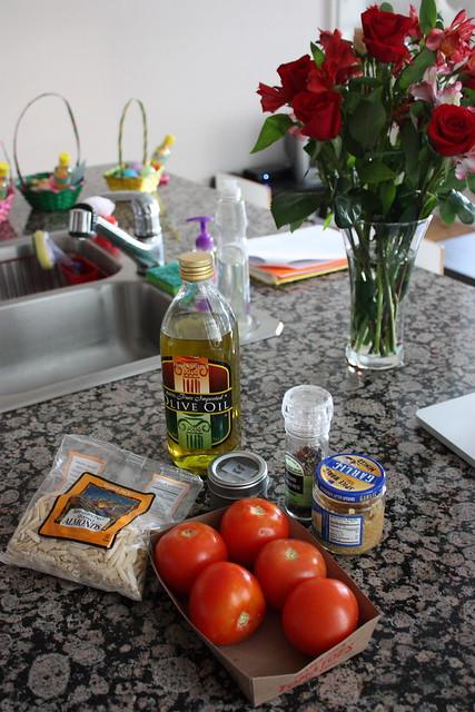 Tomato, Almond Pesto