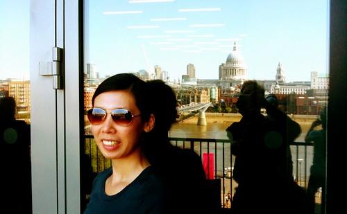 Self-portrait at Tate