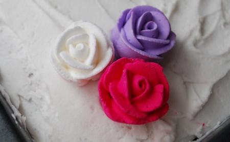 Pretty Cake Flowers