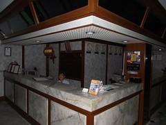 Отель. Reception.